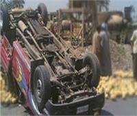 إصاباتهم خطيرة.. انقلاب سيارة تقل 16 عاملا زراعيا بالشرقية