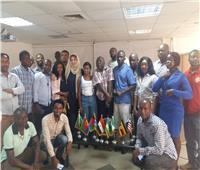 انتهاء الأسبوع الأول من الدورة الـ43 للإعلاميين الأفارقة بماسبيرو