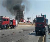 فيديو| المرور: حريق المريوطية وراء غلق الطريق الدائري