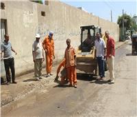 المنيا تواصل حملات إزالة التعديات على الأراضي