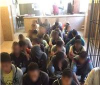 ضبط 33 مهاجرا غير شرعيا عبر الدروب الصحراوية