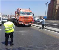 «المرور»: تنفيذ قرار حظر سير النقل الثقيل على الدائري السبت المقبل