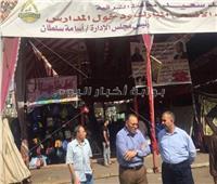 محافظ الشرقية يتفقد معرضًا لمستلزمات المدارس بمدينة الزقازيق