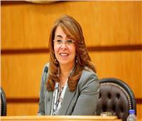 وزيرة التضامن تفتتح معرض «فيرنكس دمياط للأثاث»