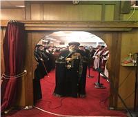 بعد تدشينها.. البابا تواضروس يترأس القداس في «عذراء كوينز»