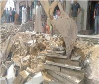 صور| حملات لإزالة مخالفات البناء في القاهرة الجديدة وبرج العرب