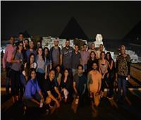 «الهجرة» تنظم زيارة إلى الأهرامات لأبناء الجيل الثاني والثالث بأستراليا