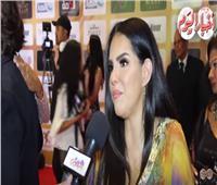 فيديو| دنيا عبدالعزيز: سعيدة بتكريمي فى مهرجان الفضائيات