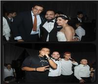 صور| محمد نور وأوكا وأورتيجا نجوم زفاف «كيرلس وايـﭭا»