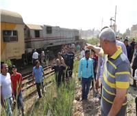 احتجاز سائق قطار شبين الكوم على ذمة تحريات الشرطة