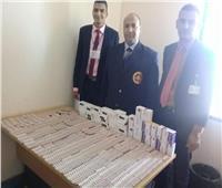 صور| ضبط محاولة تهريب أدوية بشرية في مطار مرسى علم