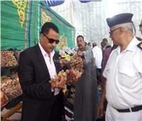 مدير أمن الإسماعيلية يفتتح معرض «كلنا واحد» المخفض لبيع الخضروات
