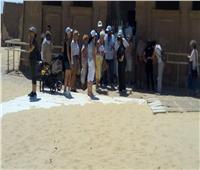 وفد أمريكي يزور منطقة «تونا الجبل» الأثرية بالمنيا