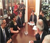 وزير البترول يبحث مع الرئيس القبرصى الاتفاق الحكومى المشترك
