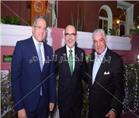 صور| وزير الآثار بصحبة السفراء في الاحتفال بالعيد الوطني للمكسيك