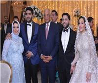 صور| عبدالعال وأعضاء البرلمان في زفاف محمود الخضراوي.. وتامر حسني يُشعل الحفل