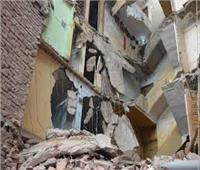 عاجل| مصرع ثلاثة أشخاص في انهيار عقار بشبرا