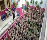 111 مدرسة بمحافظة القاهرة تستقبل طلابها بأول يوم دراسي