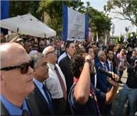 صور  استعدادات مهرجان «أهلاً ومرحباً» بجامعة عين شمس