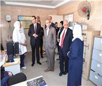 مساعد وزير الصحة يتابع معدلات الإنجاز في تنفيذ التأمين الصحي ببورسعيد