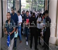 تشديدات أمنية على بوابات جامعة حلوان في أول يوم للدراسة