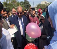 صور| «الأزهر»: واقعة «صور رئيس الجامعة مع الطالبات» شائعة