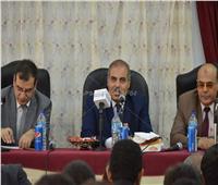 صور  لاستقبال الطلبة الجدد.. كلية الإعلام جامعة الأزهر تتزين في ثوب جديد
