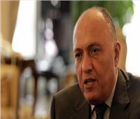 سامح شكري: القضية الفلسطينية من أهم القضايا التي سنناقشها بالولايات المتحدة