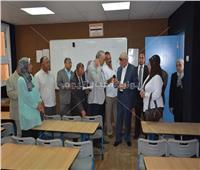 محافظ الجيزة يفتتح مدرسة الشهيد أحمد محمود بالعمرانية