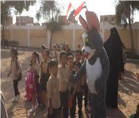 انتظام 35000 طالب وطالبة في 317 مدرسة بجنوب سيناء