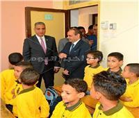 توزيع 500 حقيبة مدرسية على تلاميذ 5 مراكز بسوهاج