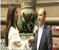 فيديو| وزير الصناعة : الجميع يعمل ويسابق الزمن لتحقيق التنمية في مصر