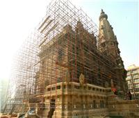 العناني يتفقد أعمال تطوير قصر البارون