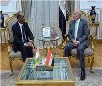وزير الإنتاج الحربي يبحث مع سفير الهند سبل التعاون المشترك
