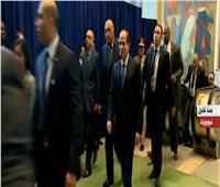 عاجل  وصول الرئيس لمقر الأمم المتحدة للمشاركة فى قمة «نيلسون مانديلا» للسلام