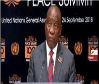 رئيس جنوب إفريقيا: يجب مواجهة تهريب اللاجئين حول العالم
