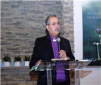 رئيس الطائفة الإنجيلية يدشن الكنيسة العربية بريتشموند