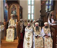 البابا تواضروس يرسم 5 قمامصة لكنائس نيوچيرسي