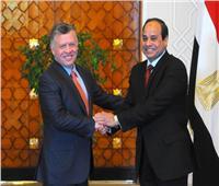 السيسي يؤكد أهمية التنسيق مع الأردن لمواجهة تحديات المنطقة