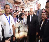 صور| مبادئ جديدة لجامعة القاهرة في حوار مفتوح بين «الخشت» والطلاب