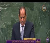 بالفيديو| رشوان: السيسي ركز على تكرار مفهوم الدولة الوطنية بالأمم المتحدة