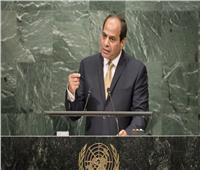 «السيسي» يتفقد جناح الاستثمار المصري قبل اجتماع تغير المناخ