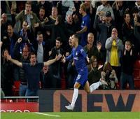 هازارد يسجل هدفا رائعا لتشيلسي في ليفربول