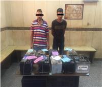 ضبط عصابة لسرقة بطاريات السيارات في أسيوط