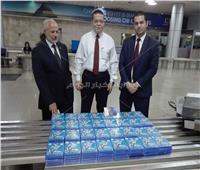 ضبط محاولة تهريب اسطوانات «بلاي ستيشن» في المطار