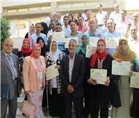 مركز التنمية المحلية بسقارة يحتفل بتخريج 108 متدربين