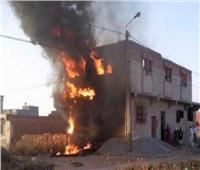 مصرع شخص وإصابة 6 آخرين في انفجار ماسورة غاز بحلوان