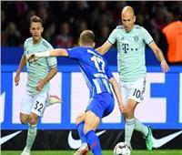شاهد| هيرتا برلين يفوز بثنائية على بايرن ميونخ في البوندسليجا