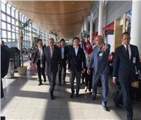 وفد برلماني ياباني يتفقد مطار برج العرب بالإسكندرية