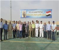 إعادة تشغيل كوبري الشهيد أحمد المنسي بالإسماعيلية